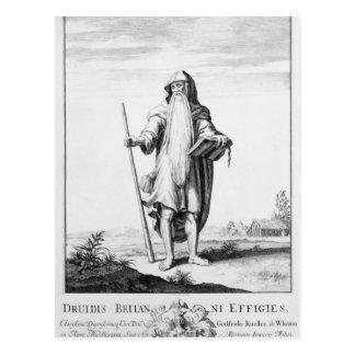Cartão Postal Um Druid