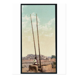 """Cartão Postal Um """"Estufa"""", povoado indígeno de Taos, clássico"""