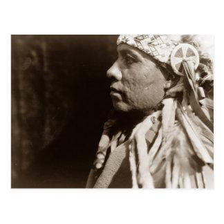 Cartão Postal Um homem indiano norte-americano nativo de Wichita