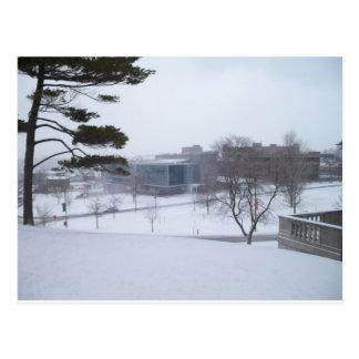 Cartão Postal Um inverno de Siracusa