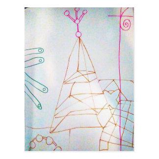 Cartão Postal Um jogo do grânulo de vidro dos Geometers