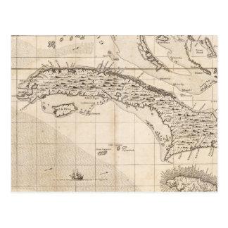 Cartão Postal Um mapa do Império Britânico na folha 14 de