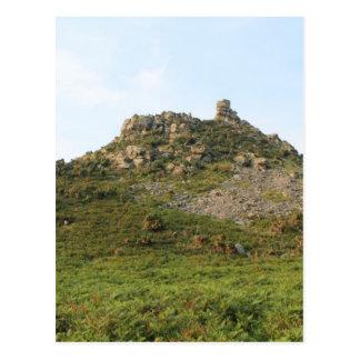 Cartão Postal Um monte com rochas