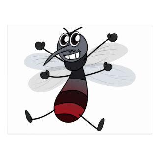 Cartão Postal Um mosquito