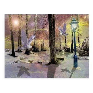 Cartão Postal Um Natal do livro da história