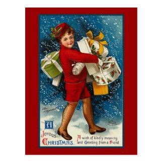 """Cartão Postal """"Um Natal feliz """""""