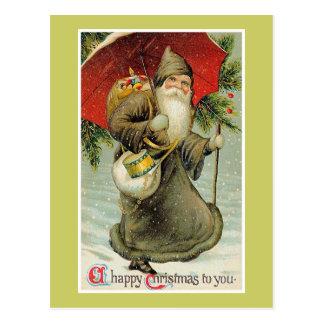 Cartão Postal Um Natal feliz a você