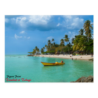 Cartão Postal Um paraíso das caraíbas