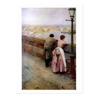 Cartão Postal Um pescador por Anders Zorn