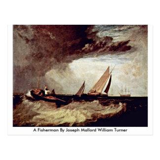 Cartão Postal Um pescador por Joseph Mallord William Turner
