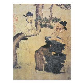 Cartão Postal Um poeta chinês antigo