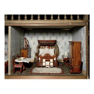 """Cartão Postal Um quarto da """"em Prazer Sra. Bryant"""", c.1860"""
