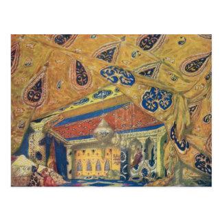 Cartão Postal Um salão de beleza de Scheherazade