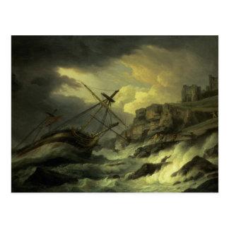 """Cartão Postal Um Shipwreck, disse ser """"o Dutton"""