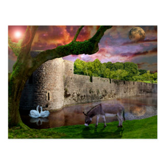 Cartão Postal Um sonho das noites de plenos Verões