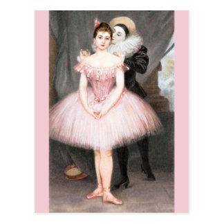 Cartão Postal Um sussurro do amor pelo Portador-Belleuse de