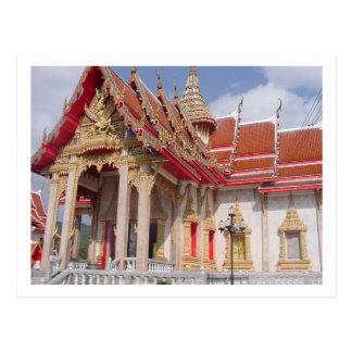 Cartão Postal Um templo tailandês