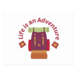 Cartão Postal Uma aventura