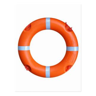 Cartão Postal Uma bóia de vida para a segurança no mar