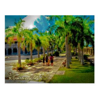 Cartão Postal Uma caminhada em Frederiksted Virgin Islands