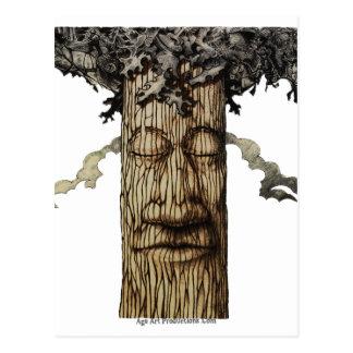 Cartão Postal Uma capa poderosa da árvore