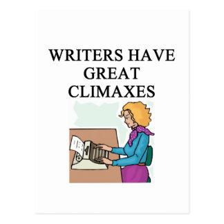 Cartão Postal uma chalaça para escritores