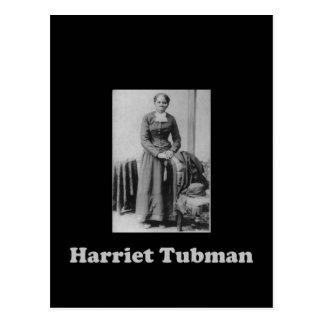 Cartão Postal Uma imagem de Harriet Tubman em preto e branco