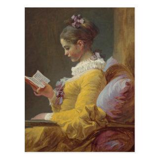 Cartão Postal Uma leitura da rapariga