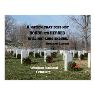 Cartão Postal Uma nação que não honre seus heróis
