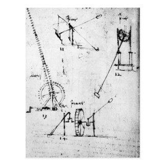 Cartão Postal Uma página do códice Forster, 1480s-1494