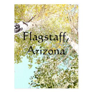 Cartão Postal Uma parte do céu, mastro, arizona