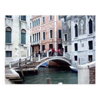 Cartão Postal Uma ponte Venetian