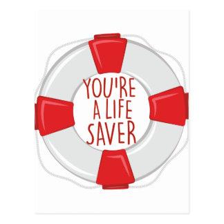 Cartão Postal Uma poupança de vida