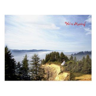 Cartão Postal Uma sala com uma vista