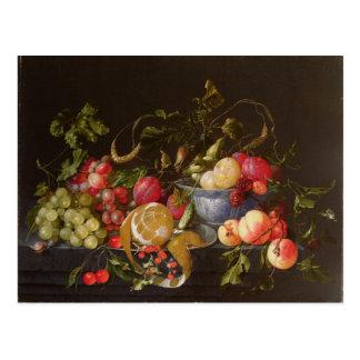 Cartão Postal Uma vida imóvel da fruta
