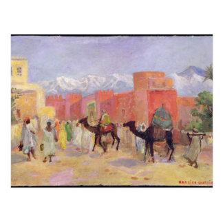 Cartão Postal Uma vila nas montanhas de atlas