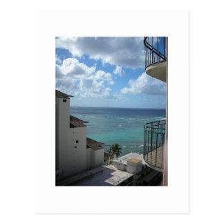 Cartão Postal Uma vista de Honolulu