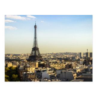 Cartão Postal Uma vista de Paris em France