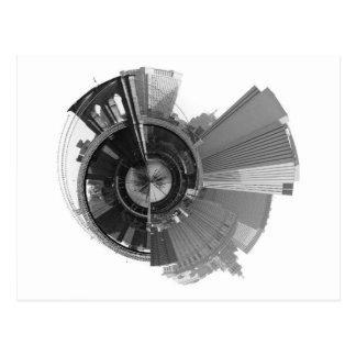 Cartão Postal Uma vista panorâmica de 360 graus de Brooklyn NYC