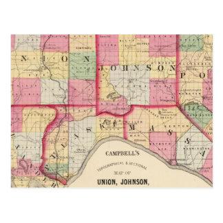 Cartão Postal União, Johnson, Alexander, Pulaski