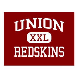 Cartão Postal União - Redskins - escola secundária - Tulsa