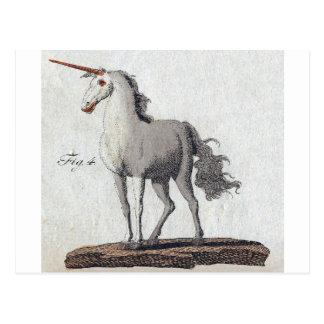 Cartão Postal Unicórnio