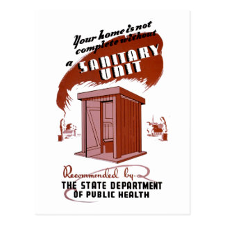 Cartão Postal Unidade sanitária