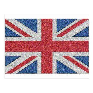 Cartão Postal Union Jack ruidoso