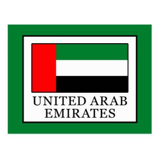 Cartão Postal United Arab Emirates