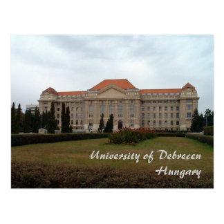 Cartão Postal Universidade de Debrecen