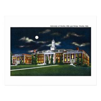 Cartão Postal Universidade de Omaha, Nebraska