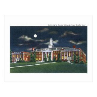 Cartão Postal Universidade de Omaha, Omaha, Nebraska