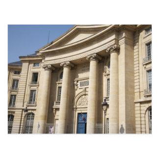 Cartão Postal Universidade de Paris mim escola de direito do