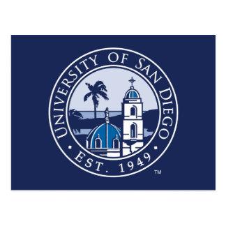 Cartão Postal Universidade de San Diego | Est. 1949